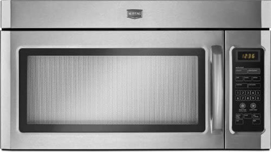 microwave-top-opening-flap exaust